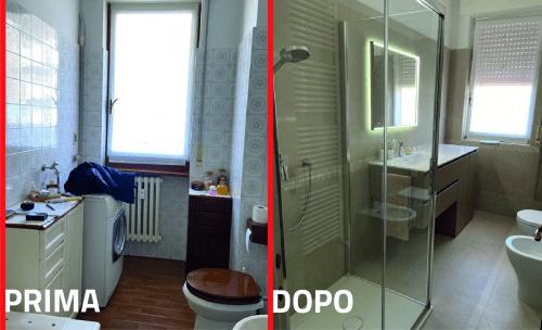 Dalla vasca alla doccia - Per rinnovare completamente l'ambiente bagno e creare nuovo spazio